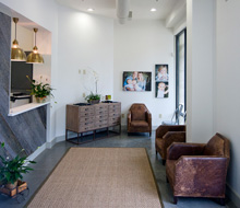 The lobby at Downtown Dental